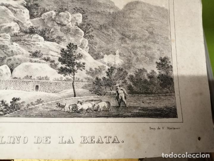 Arte: 3 GRABADOS ORIGINALES 1ª EDICIÓN 1840 PANORAMA ÓPTICO - HISTÓRICO - ARTÍSTICO BALEARES . FURIÓ - Foto 10 - 247331440