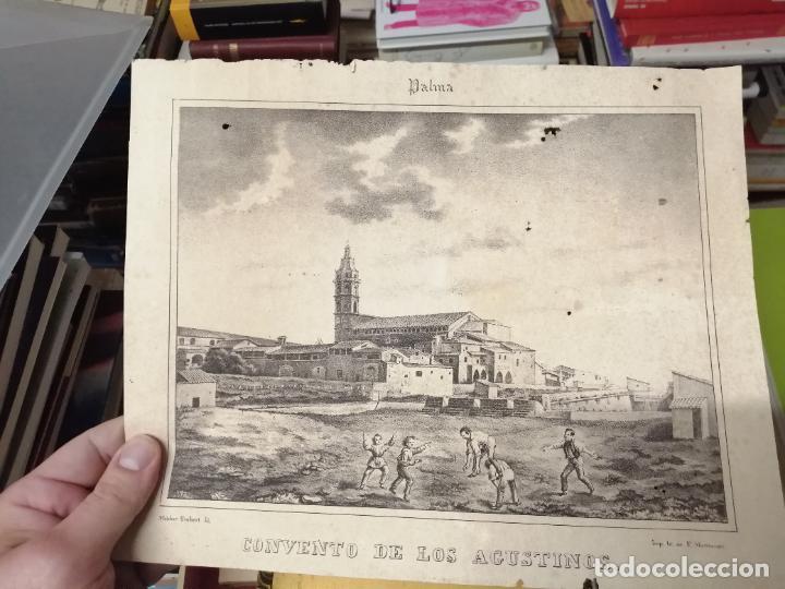 Arte: 3 GRABADOS ORIGINALES 1ª EDICIÓN 1840 PANORAMA ÓPTICO - HISTÓRICO - ARTÍSTICO BALEARES . FURIÓ - Foto 11 - 247331440