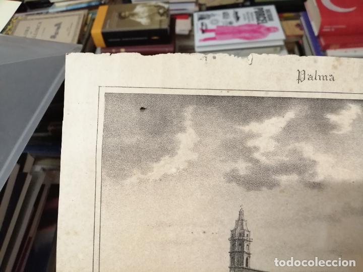 Arte: 3 GRABADOS ORIGINALES 1ª EDICIÓN 1840 PANORAMA ÓPTICO - HISTÓRICO - ARTÍSTICO BALEARES . FURIÓ - Foto 12 - 247331440