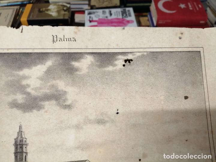 Arte: 3 GRABADOS ORIGINALES 1ª EDICIÓN 1840 PANORAMA ÓPTICO - HISTÓRICO - ARTÍSTICO BALEARES . FURIÓ - Foto 13 - 247331440
