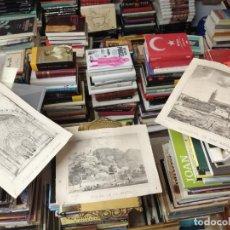 Arte: 3 GRABADOS ORIGINALES 1ª EDICIÓN 1840 PANORAMA ÓPTICO - HISTÓRICO - ARTÍSTICO BALEARES . FURIÓ. Lote 247331440
