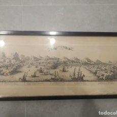 Arte: CAP DE QUIERS EN CATALOGNE (CADAQUÉS). 1694 CA. COCHIN. BEAULIEU. (S. XIX). Lote 247426675