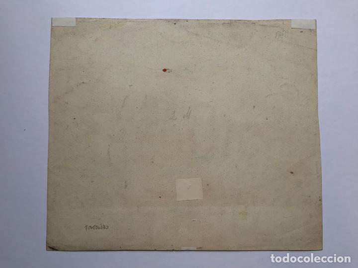 Arte: Grabado antiguo siglo XVIII Castillo Rouen Normandia 1706 Piequemont Carpantier - Piequemont Carpant - Foto 6 - 247974800