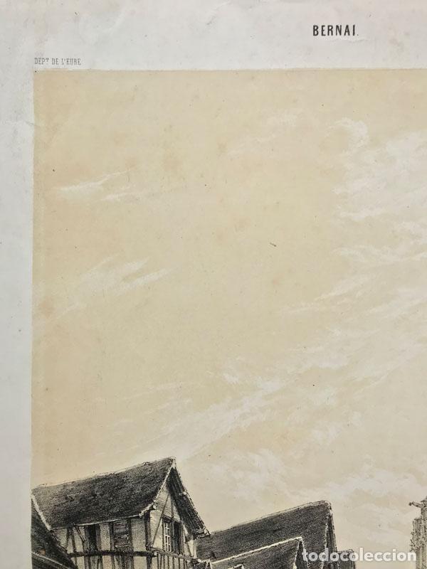 Arte: Grabado antiguo siglo XIX Bernay Normadia 1860 Deroy / Morier / Lemercier - Deroy / Morier / Lemerci - Foto 3 - 247974810