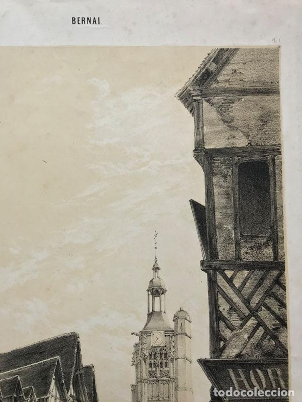 Arte: Grabado antiguo siglo XIX Bernay Normadia 1860 Deroy / Morier / Lemercier - Deroy / Morier / Lemerci - Foto 4 - 247974810