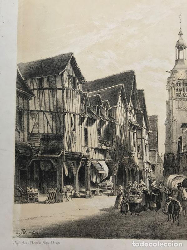 Arte: Grabado antiguo siglo XIX Bernay Normadia 1860 Deroy / Morier / Lemercier - Deroy / Morier / Lemerci - Foto 5 - 247974810