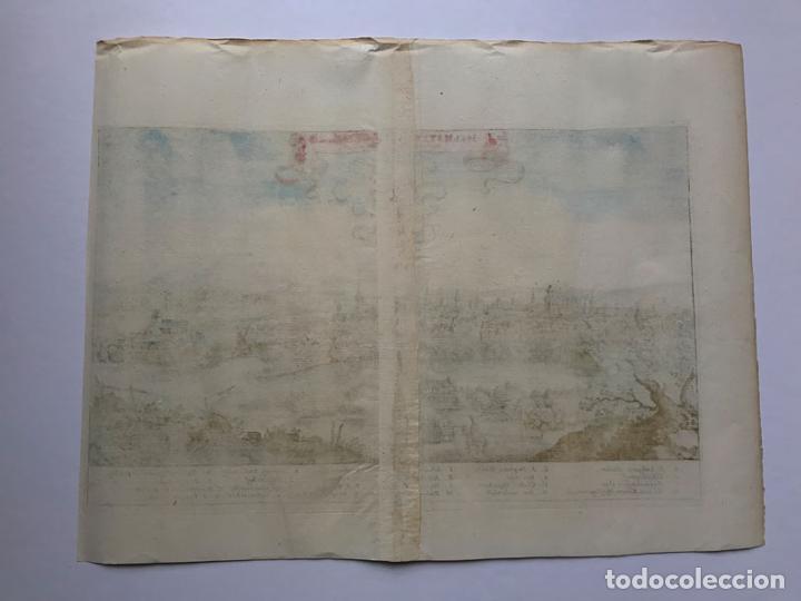 Arte: Grabado antiguo siglo XVII Helmstedt Alemania 1654 C. Merian - C. Merian - Foto 6 - 247974820