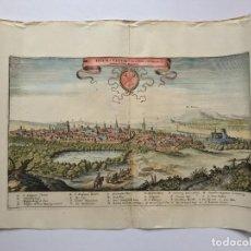 Arte: GRABADO ANTIGUO SIGLO XVII HELMSTEDT ALEMANIA 1654 C. MERIAN - C. MERIAN. Lote 247974820