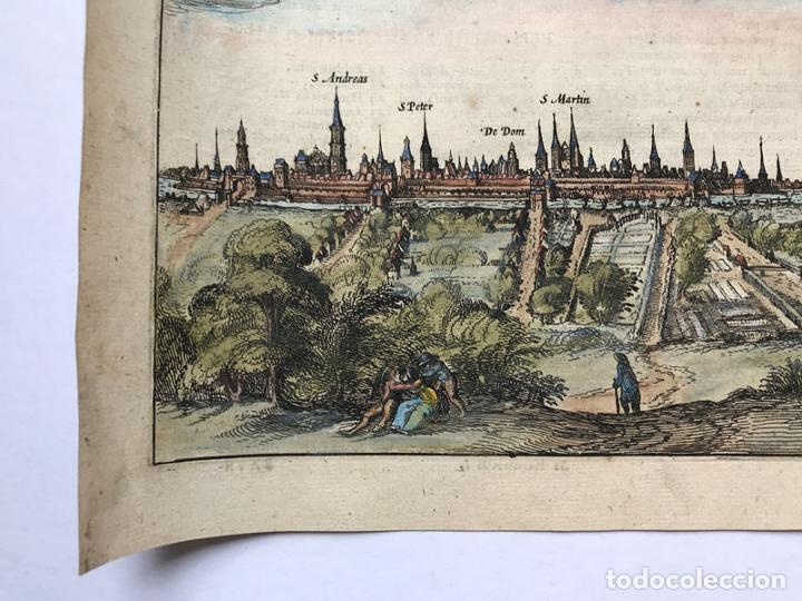Arte: Grabado antiguo siglo XVII Baja Sajonia Alemania 1616 Petrus Bertius - Petrus Bertius - Foto 4 - 247974830