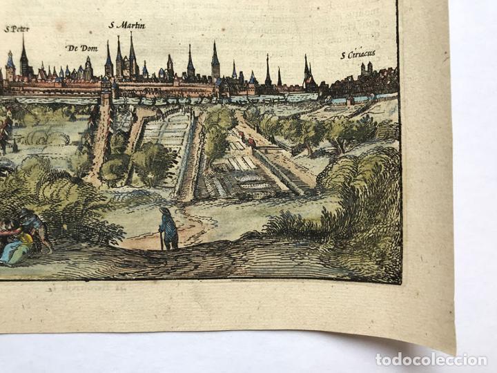 Arte: Grabado antiguo siglo XVII Baja Sajonia Alemania 1616 Petrus Bertius - Petrus Bertius - Foto 5 - 247974830