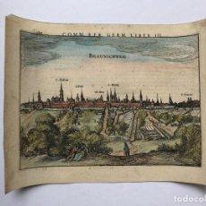 Arte: GRABADO ANTIGUO SIGLO XVII BAJA SAJONIA ALEMANIA 1616 PETRUS BERTIUS - PETRUS BERTIUS. Lote 247974830