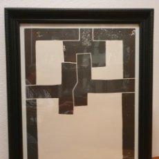 """Arte: CHILLIDA - LITOGRAFÍA """"BARCELONA II"""" (1971). Lote 248100790"""