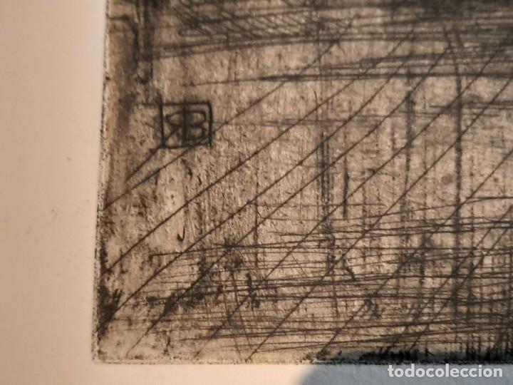 "Arte: ""FRAGUA""Grabado Ricardo Baroja Aguatinta Aguafuerte Calcografía nacional Plancha orig 1896 Ed1970,s - Foto 3 - 249459990"
