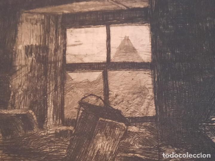 "Arte: ""FRAGUA""Grabado Ricardo Baroja Aguatinta Aguafuerte Calcografía nacional Plancha orig 1896 Ed1970,s - Foto 4 - 249459990"