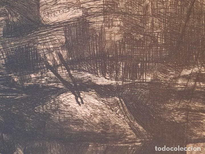 "Arte: ""FRAGUA""Grabado Ricardo Baroja Aguatinta Aguafuerte Calcografía nacional Plancha orig 1896 Ed1970,s - Foto 6 - 249459990"