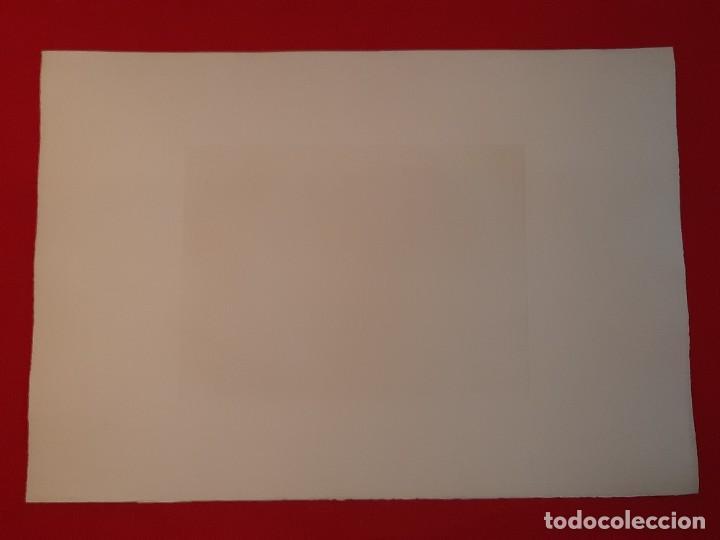 "Arte: ""FRAGUA""Grabado Ricardo Baroja Aguatinta Aguafuerte Calcografía nacional Plancha orig 1896 Ed1970,s - Foto 7 - 249459990"