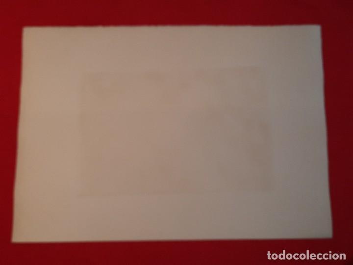Arte: LA ERMITA O ENTRANDO EN LA IGLESIA Grabado Ricardo Baroja Aguatinta Aguafuerte Calcografía Nacional - Foto 8 - 249465850
