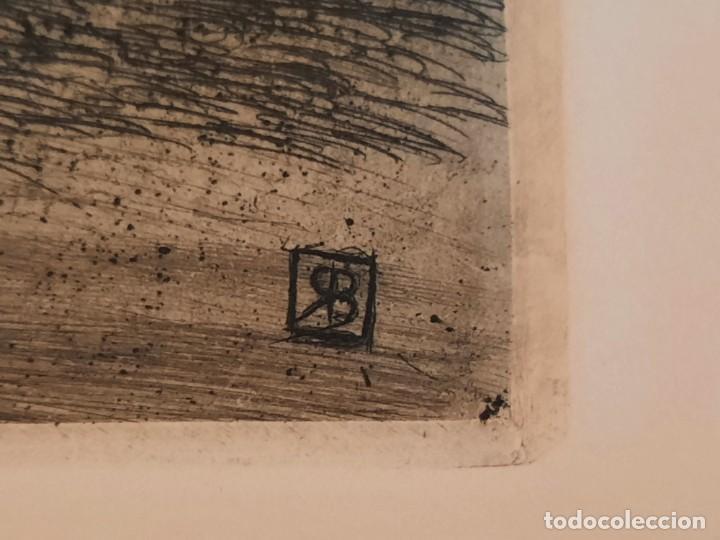 Arte: DESCANSO EN EL CAMINO Grabado Ricardo Baroja Aguatinta Aguafuerte Calcografía Nacional 1908 ED 70,S - Foto 4 - 249467695