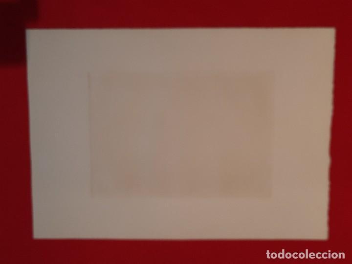 Arte: DESCANSO EN EL CAMINO Grabado Ricardo Baroja Aguatinta Aguafuerte Calcografía Nacional 1908 ED 70,S - Foto 6 - 249467695