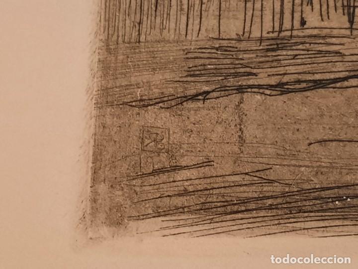 Arte: RINCON MADRILEÑO O EL SUBURBIO Grabado Ricardo Baroja Aguatinta Aguafuerte Calcografía Nacional - Foto 5 - 249470650