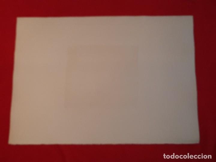 Arte: RINCON MADRILEÑO O EL SUBURBIO Grabado Ricardo Baroja Aguatinta Aguafuerte Calcografía Nacional - Foto 6 - 249470650