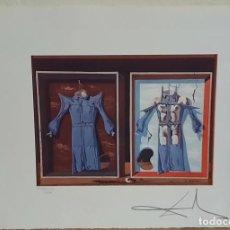 Arte: IMPRESIONANTE GRABADO DE DALI ,FIRMADO Y NUMERADO , 50 X 65 CM. Lote 245604275