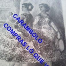 Arte: 9 GRABADOS GUSTAVO DORÉ VIAJES POR ESPAÑA BARON DAVILLIER LM2. Lote 249586960
