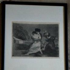 Arte: GRABADO / * DESASTRES DE LA GUERRA-9 (NO QUIEREN) *. F. DE GOYA. MUSEO DEL GRABADO DE FUENDETODOS.. Lote 250210135