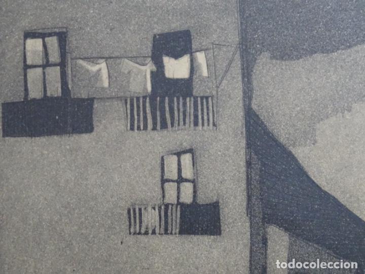 Arte: GRABADO - AGUAFUERTE ILEGIBLE. P/A. BIEN ENMARCADO. - Foto 6 - 251419740