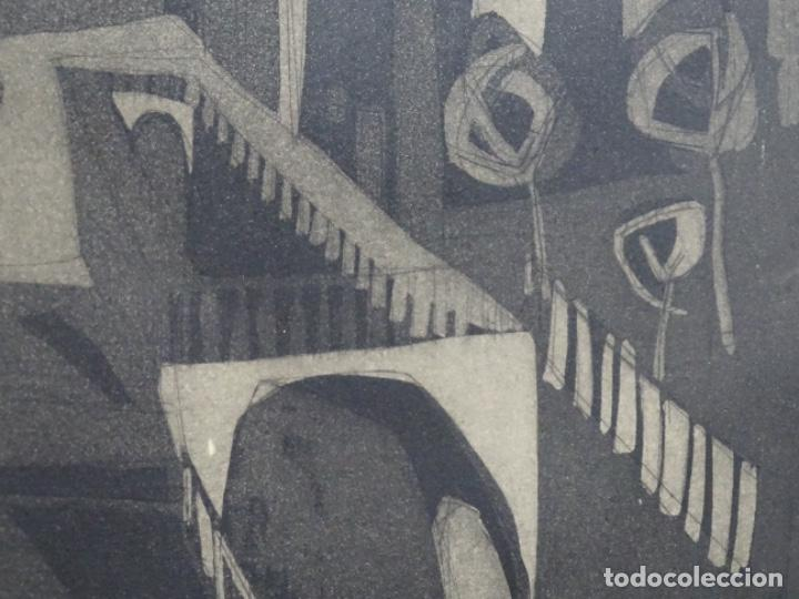 Arte: GRABADO - AGUAFUERTE ILEGIBLE. P/A. BIEN ENMARCADO. - Foto 9 - 251419740