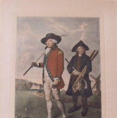 Arte: GRABADO LITOGRÁFICO TO THE SOCIETY OF GOFFERS AT BLACKHEATH. 1790. GOLF. V. GREEN. L. F. ABBOT.. Lote 251546735