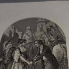 Arte: 22 GRABADOS AL ACERO 1864 PERTENECIENTES A LES TRIBUNAUX SECRETS OUVRAGE HISTORIQUE -FÉVAL ( PAUL ). Lote 251616725