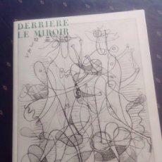 Arte: DERRIÈRE LE MIROIR. G.BRAQUE 1955.. Lote 251817970