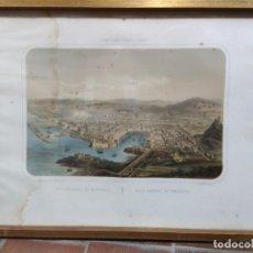 Arte: GRABADO DE MARSELLA - PUERTOS DE EUROPA. Lote 252029810