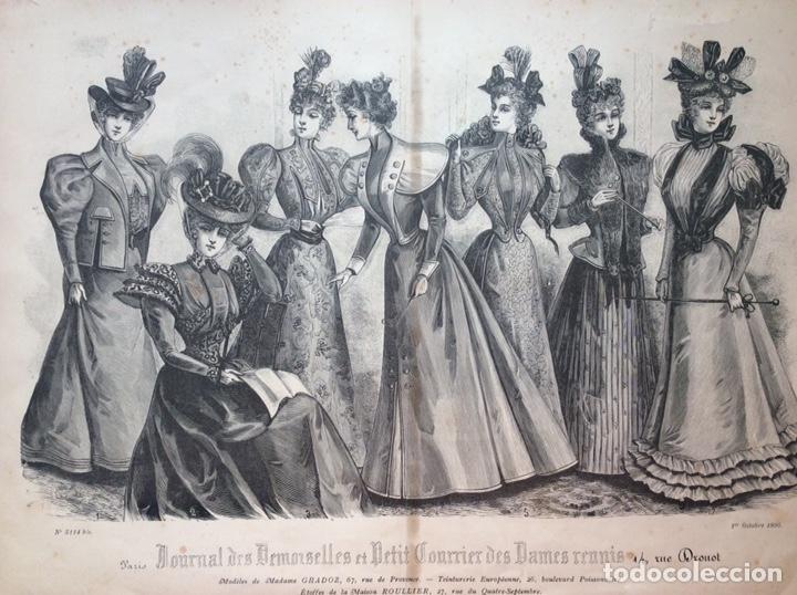 GRABADOS MODA S. XIX (Arte - Grabados - Modernos siglo XIX)