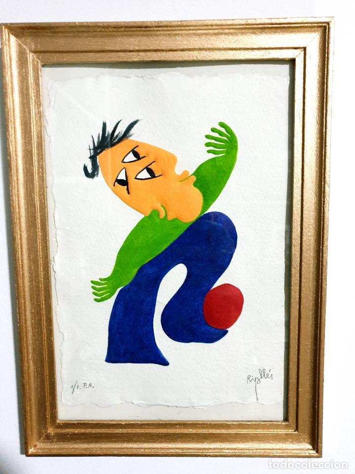 Arte: Juan García Ripollés enmarcado PRUEBA AUTOR - Foto 3 - 252396035