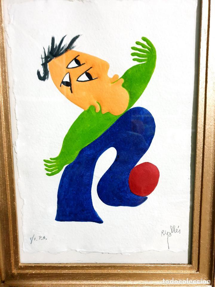 Arte: Juan García Ripollés enmarcado PRUEBA AUTOR - Foto 4 - 252396035