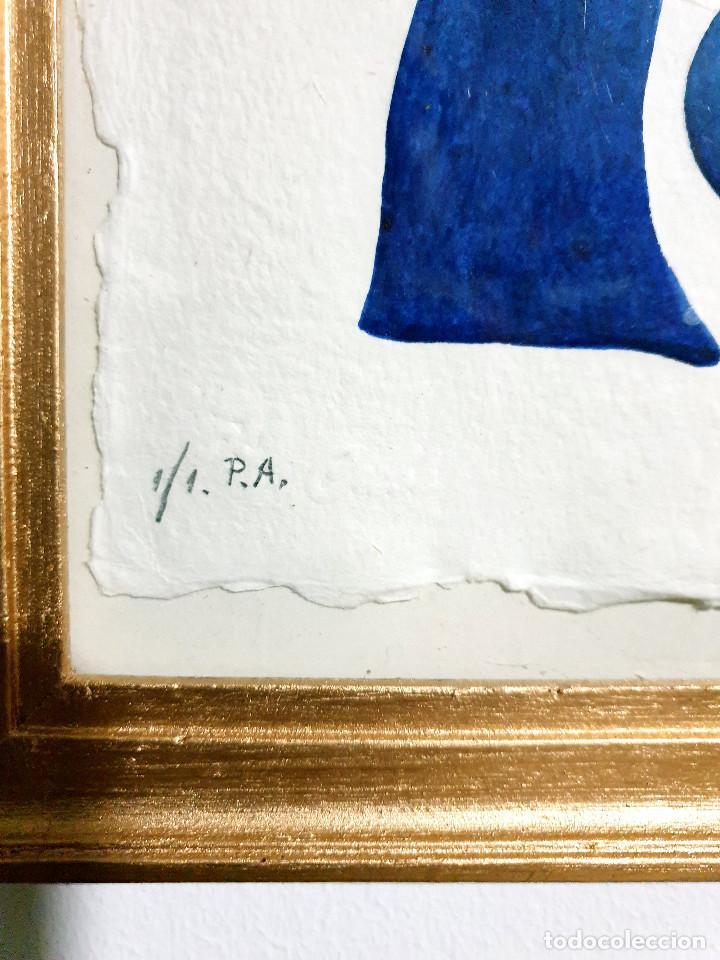 Arte: Juan García Ripollés enmarcado PRUEBA AUTOR - Foto 5 - 252396035