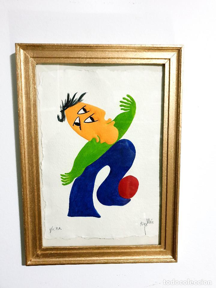 Arte: Juan García Ripollés enmarcado PRUEBA AUTOR - Foto 9 - 252396035