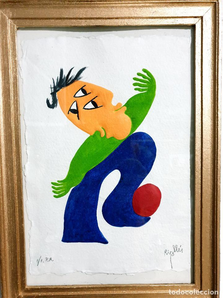 Arte: Juan García Ripollés enmarcado PRUEBA AUTOR - Foto 10 - 252396035