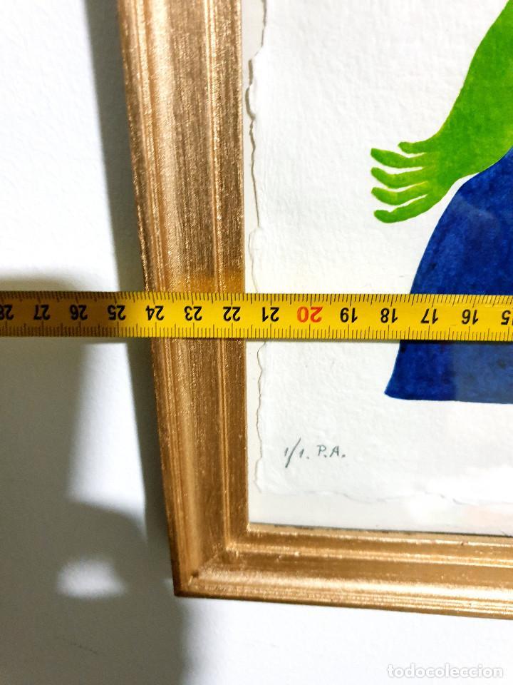 Arte: Juan García Ripollés enmarcado PRUEBA AUTOR - Foto 11 - 252396035