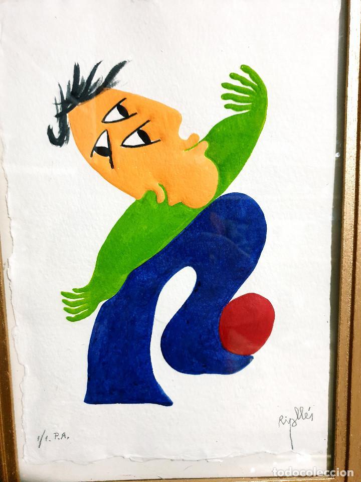 Arte: Juan García Ripollés enmarcado PRUEBA AUTOR - Foto 17 - 252396035