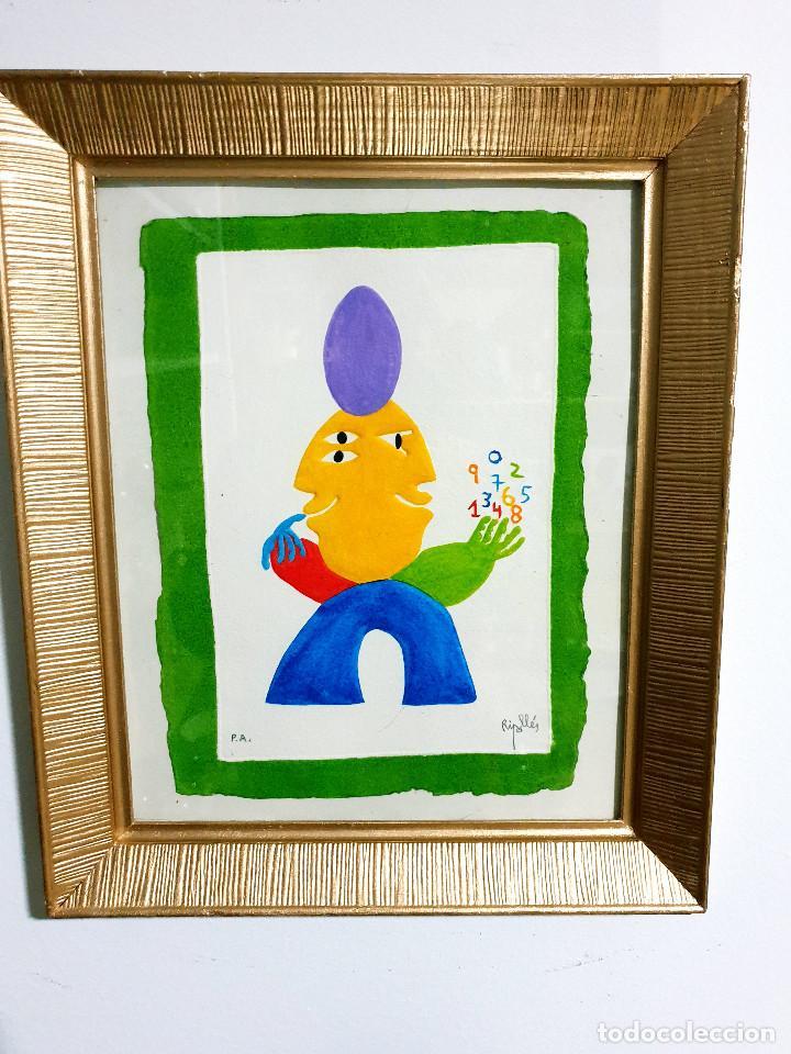 Arte: Juan García Ripollés enmarcado PRUEBA AUTOR - Foto 2 - 252396180
