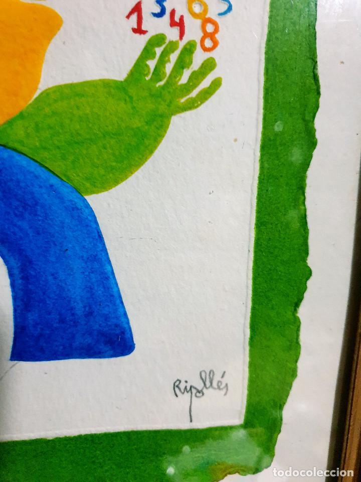 Arte: Juan García Ripollés enmarcado PRUEBA AUTOR - Foto 7 - 252396180