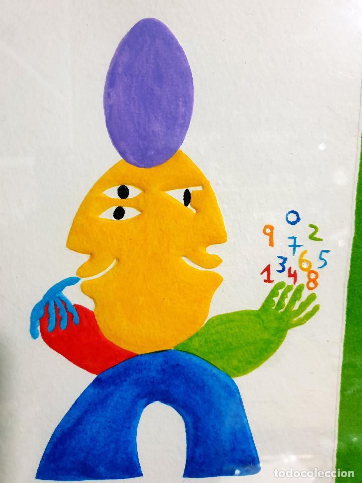 Arte: Juan García Ripollés enmarcado PRUEBA AUTOR - Foto 8 - 252396180