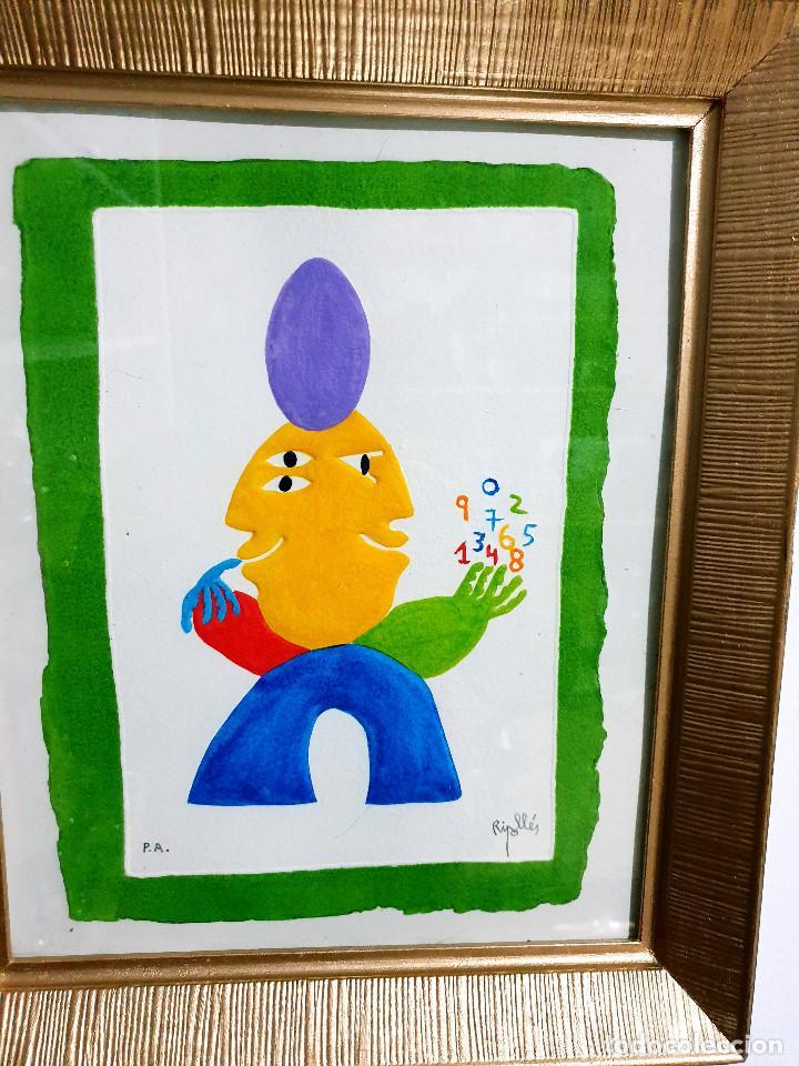 Arte: Juan García Ripollés enmarcado PRUEBA AUTOR - Foto 11 - 252396180