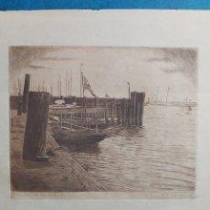 """Art: """"LA HABANA"""" GRABADO 1932. Lote 252495215"""