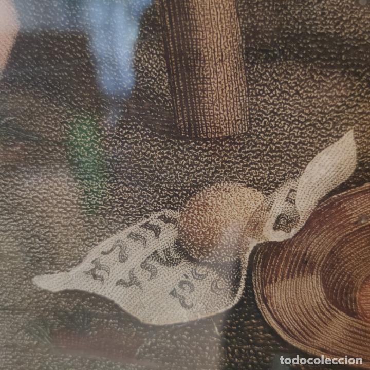 Arte: Tremendo grabado a color. Descenso de la cruz. Jean Pierre Thouvenin. 1818. Firmado en plancha. - Foto 9 - 252678510