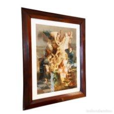 Arte: TREMENDO GRABADO A COLOR. DESCENSO DE LA CRUZ. JEAN PIERRE THOUVENIN. 1818. FIRMADO EN PLANCHA.. Lote 252678510