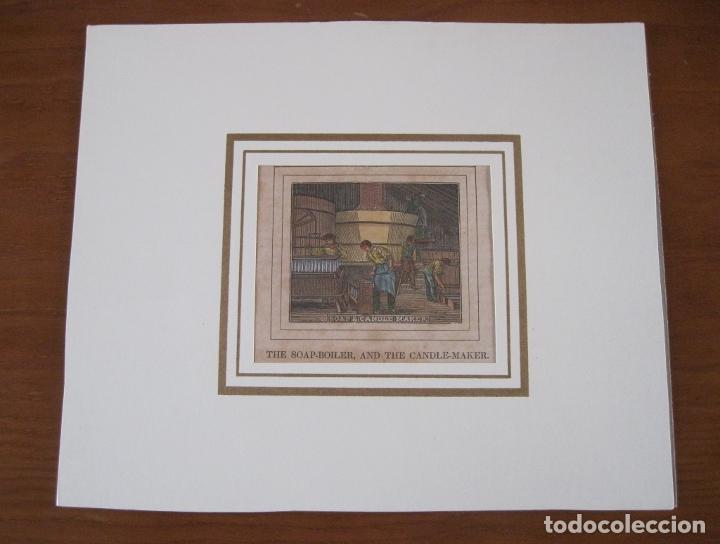 Arte: La caldera de jabón y el fabricante de velas, 1840. Anónimo - Foto 2 - 252771625